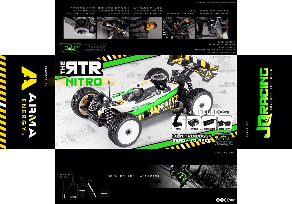 ARMA Energy JQRacing RTR Cars