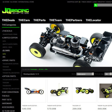 THE JQRacing Store