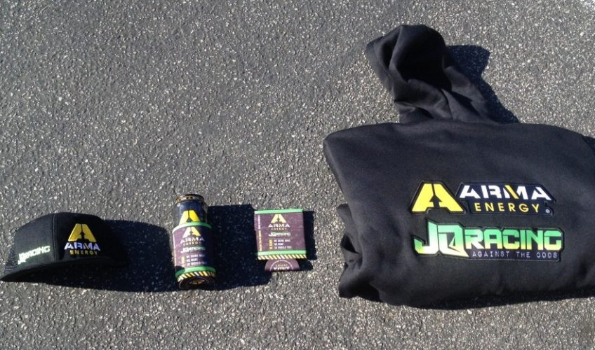 ARMA Energy JQRacing Team Swag