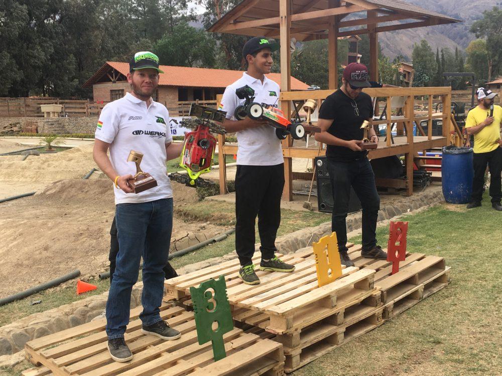 JQRacing Victory at final Bolivian Nats with Chacon