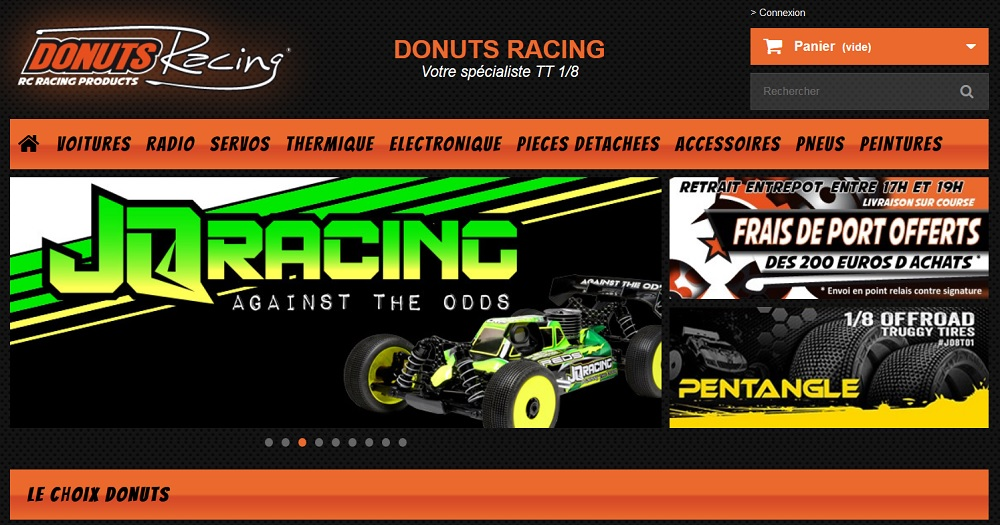RC Streamline – Donuts Racing, Appointed JQRacing Distributor in France